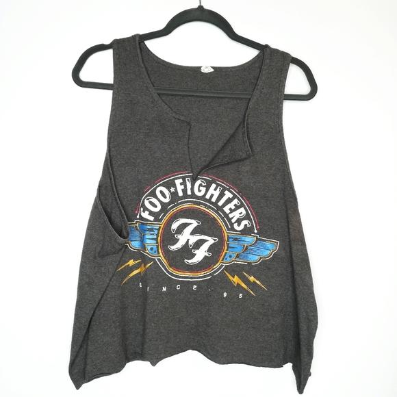 Foo Fighters Ladies Skull Eagle Tank